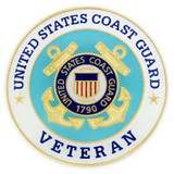 U.S. Coast Guard Veteran Pin