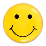 Smiley Face Lapel Pin