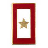 Gold Star Service Flag Pin