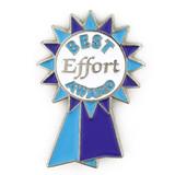 Best Effort Award Ribbon Pin
