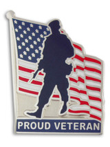 Proud Veteran Pin