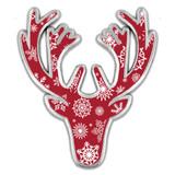 Winter Deer Pin