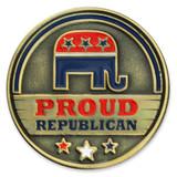 Proud Republican Pin