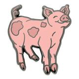Prancing Pig Pin