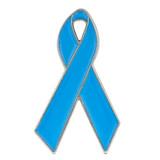 Light Blue Ribbon Pin