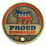 Proud Democrat Pin