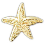 Starfish Pin - Gold