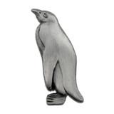 Penguin Pin - Antique Silver
