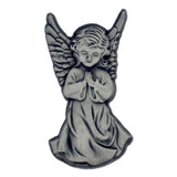 Silver Praying Angel Pin