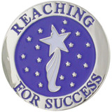 Reaching For Success Pin