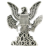 God Bless America Eagle Pin