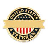 United States Veteran Pin-Engravable