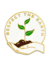 Respect The Earth Pin