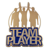 Team Player Pin