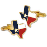 Texas State Shape Cufflink Set