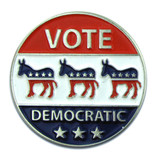 Vote Democratic Pin