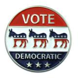 Vote Democratic Pin