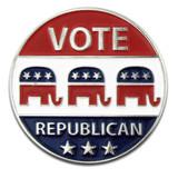 Vote Republican Pin
