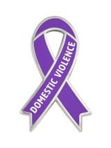 Awareness Ribbon Pin - Domestic Violence