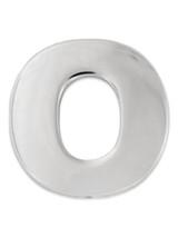 Silver O Pin