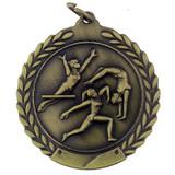 Gymnastics Medal - Female - Engravable
