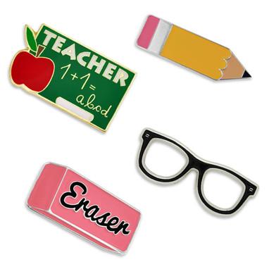 School Rules 4-Pin Set
