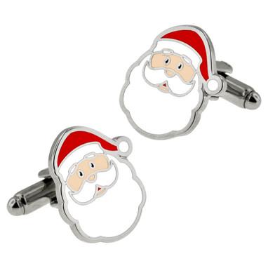 Santa Claus Cufflink Set