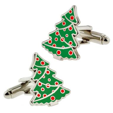 Christmas Tree Cufflink Set