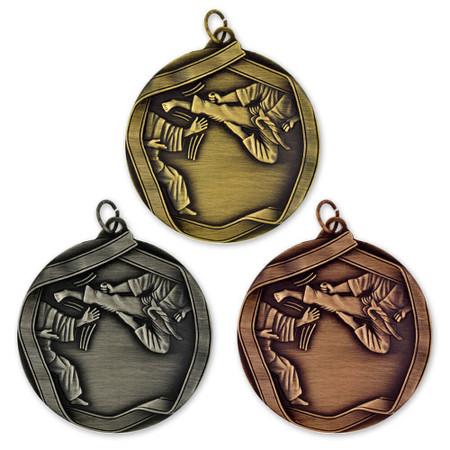Karate Medal - Engravable