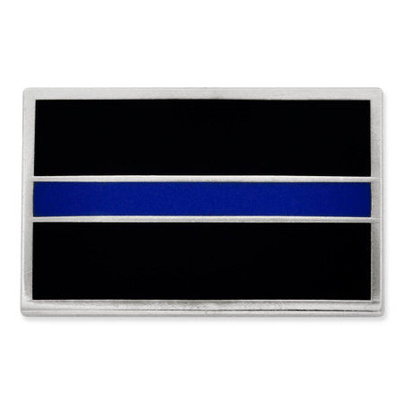 Thin Blue Line Rectangle Front