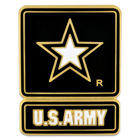 U.S. Army Star Pin - Officially Licensed Front