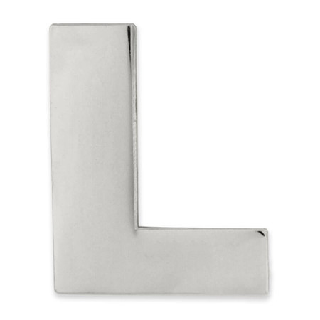 Silver L Front