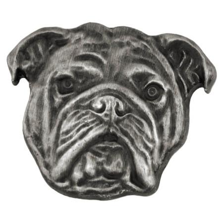 English Bulldog Pin Front