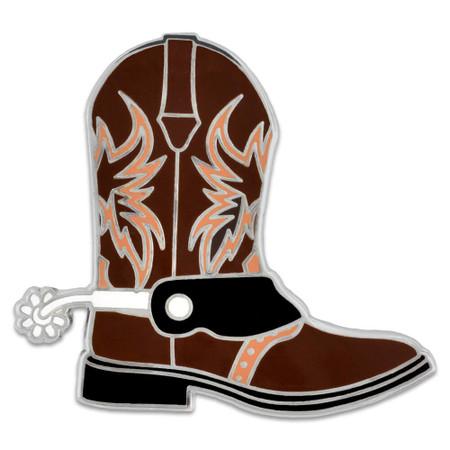 Cowboy Boot Pin Front