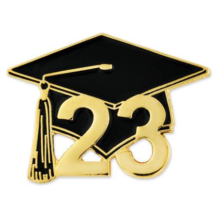 Class of 2023 Graduation Cap Pin Front