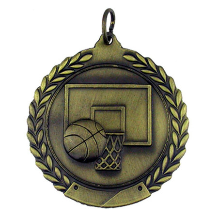 Basketball Medal - Engravable