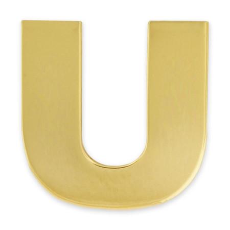 Gold U Pin Front