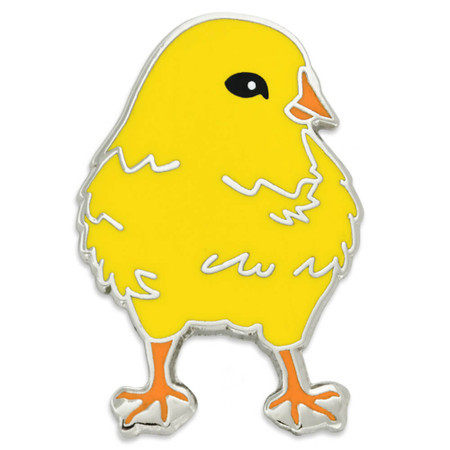 Baby Chick Pin Front