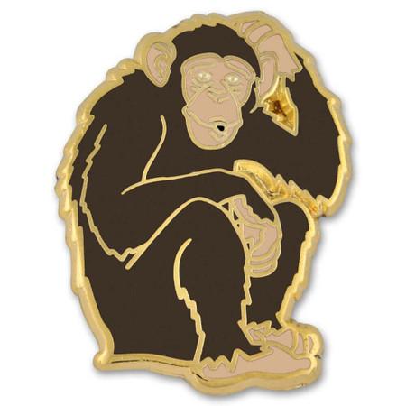 Monkey Lapel Pin Front