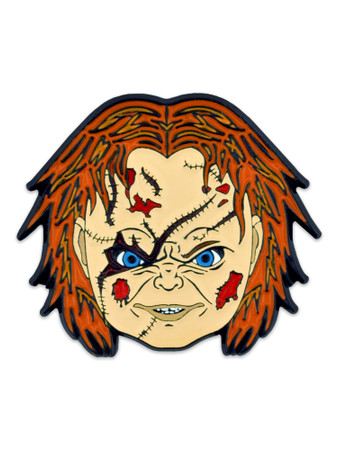 Possessed Doll Pin Front