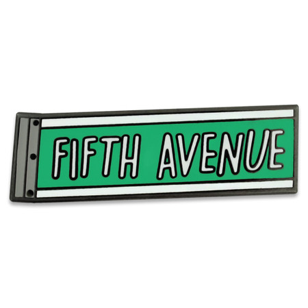 Fifth Avenue Pin Front