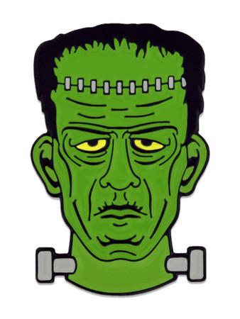Frankenstein Pin Front