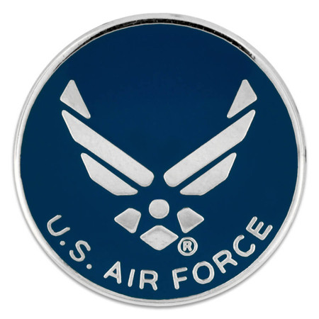 U.S. Air Force Wings Pin - Officially Licensed Front