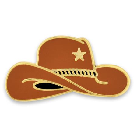Cowboy Hat Pin Front