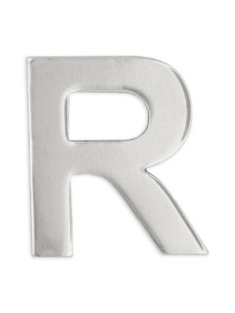 Silver R Front