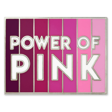 Power Of Pink Pin Front