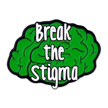 Break The Stigma Pin Front