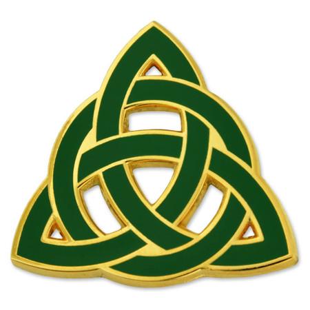 Trinity Knot Pin Front