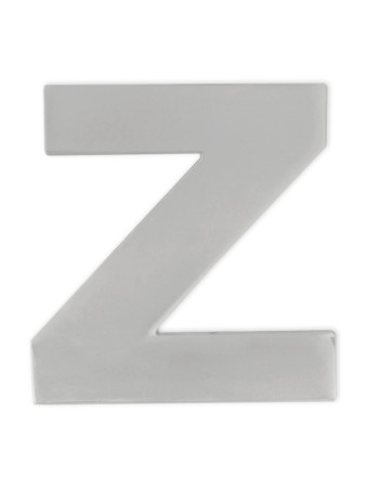 Silver Z Pin Front