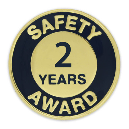 Safety Award Pin - 2 Years Front